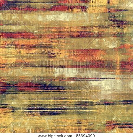 Antique vintage background. With different color patterns: yellow (beige); brown; gray; red (orange)