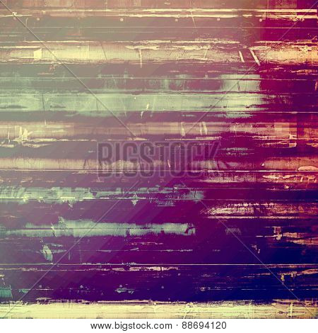 Grunge, vintage old background. With different color patterns: gray; blue; purple (violet); pink