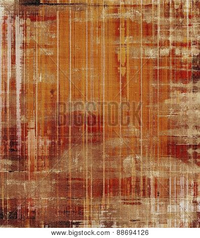 Rough grunge texture. With different color patterns: yellow (beige); brown; gray; red (orange)