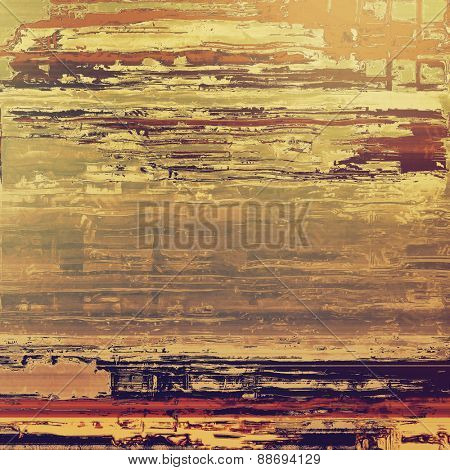 Old school textured background. With different color patterns: yellow (beige); brown; gray; purple (violet)