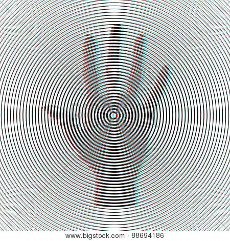 Optical Art Illustration