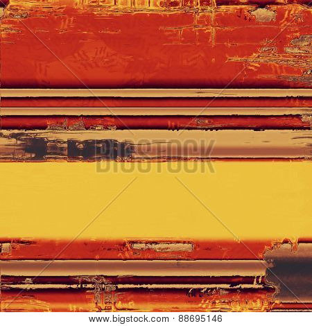 Abstract grunge background or old texture. With different color patterns: yellow (beige); brown; purple (violet); red (orange)