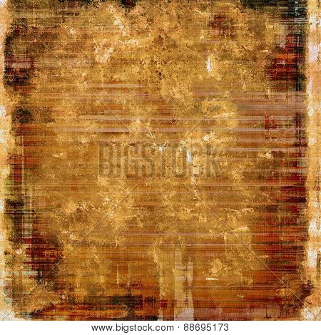 Antique vintage background. With different color patterns: yellow (beige); brown; gray