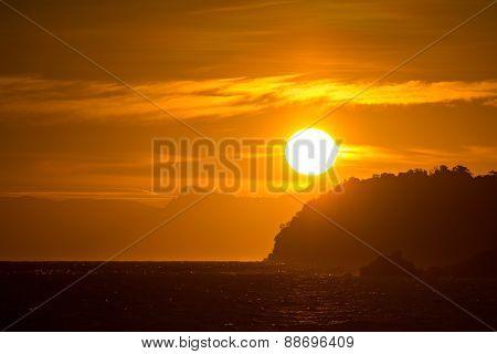 Sunrise At Lipe Islands