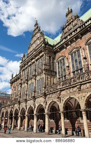 Old City Hall Of Bremen
