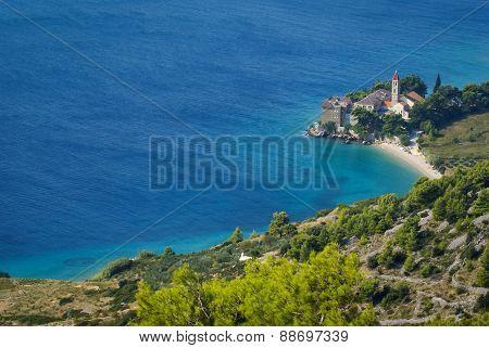 Seascape At Bol, Brac, Croatia