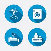 foto of barbershop  - Hotel services icons - JPG