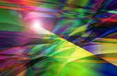 foto of sun flare  - The Colorful Abstract and Background Texture Pattern with Sun Flare - JPG