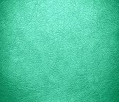 foto of aquamarine  - Aquamarine leather texture background - JPG