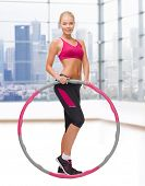picture of hula hoop  - fitness - JPG