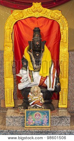 Lord Ayyappa In Hindu Temple