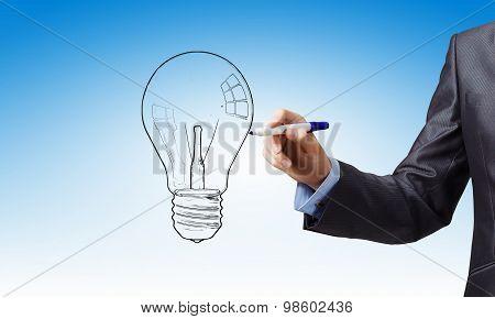 To sketch idea