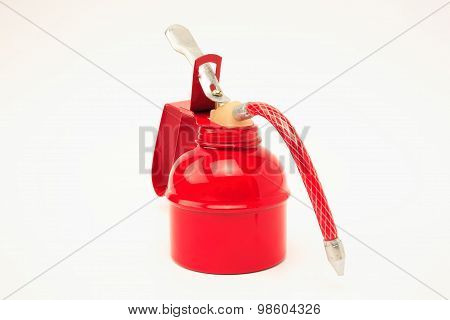 Red oilcan