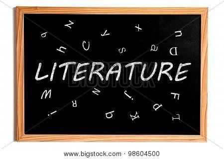 Literature Chalkboard
