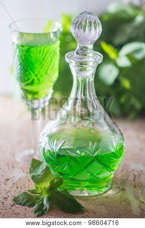 Green Drink With Soda