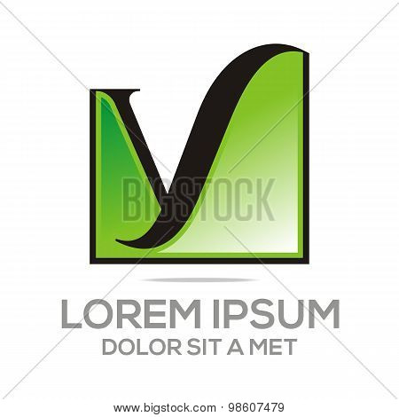 Logo Letter Y Icon Concept Business Alphabet