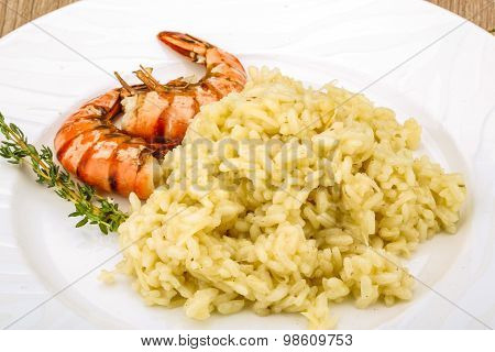 Risotto With Prawn