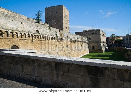 Norman- Swabian Castle. Bari. Apulia.