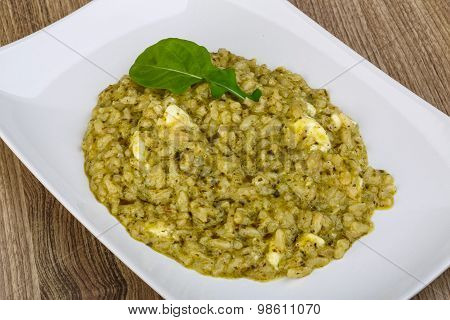 Risotto With Pesto