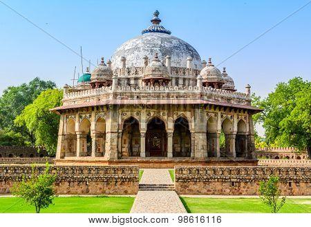Isa Khan Tomb Enclosure, New Delhi. India.