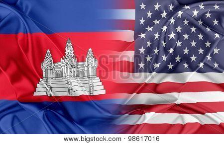 USA and Cambodia