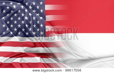 USA and Indonesia