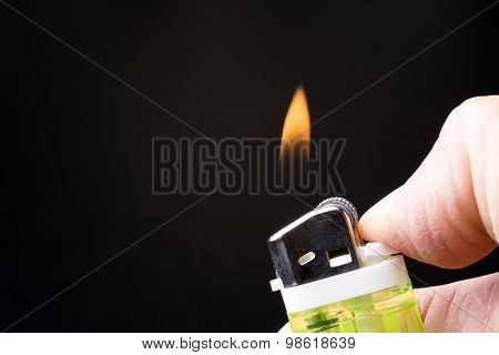 Fire of the lighter