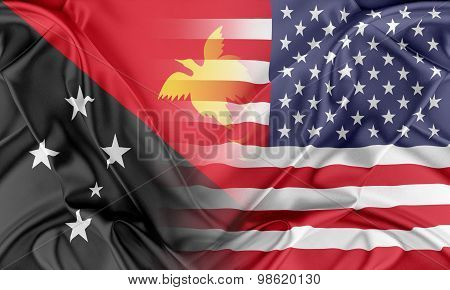 USA and Papua New Guinea