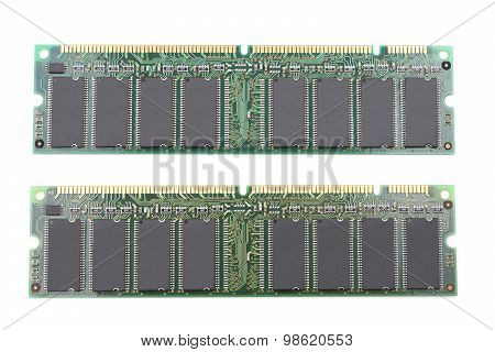 Desktop computer memory