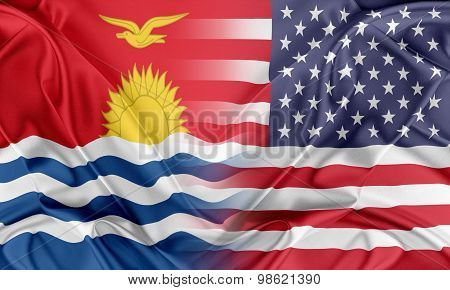 USA and Kiribati