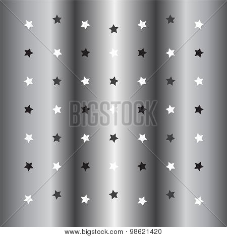 Silver Little Star Background