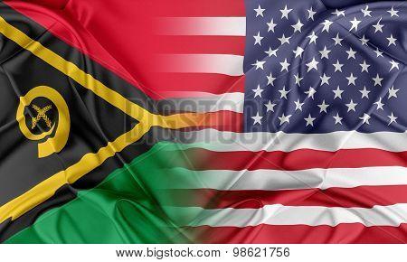USA and Vanuatu