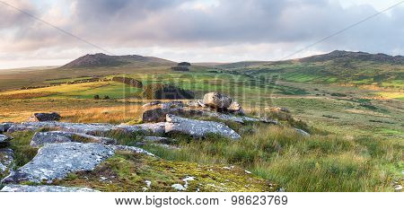 Rugged Moorland In Cornwall