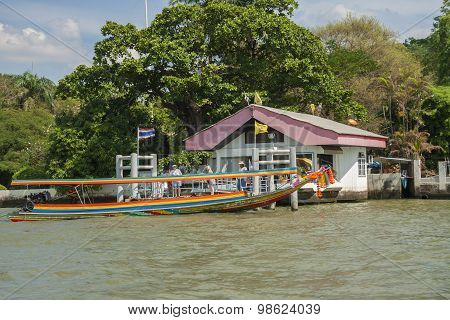 Traditional boat in Bangkok