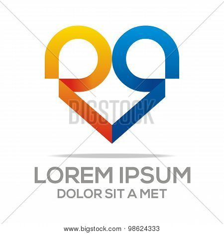 Logo Combination of Alphabet Art Collection