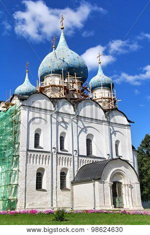 Cathedral of the Nativity of the Theotokos in Suzdal Kremlin, Suzdal, Russia
