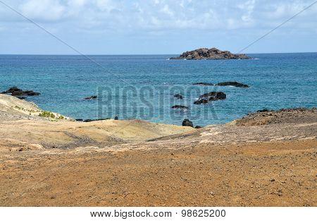 Volcanic Ocean Rocks Of Djeu