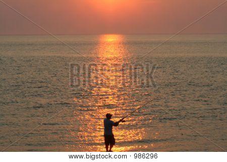 Sunset Surf pesca