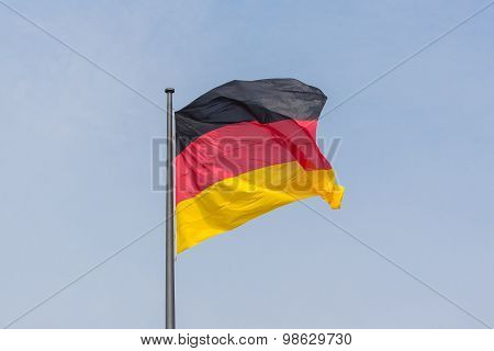 German flag - flag of germany