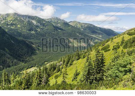 U-shaped Valley - Glacial Valley