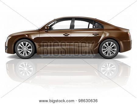 Brandless Car Automobile Vehicle Concept
