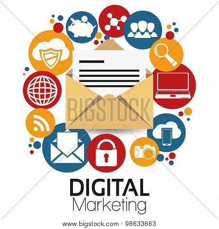 Illustration Graphic Vector Digital Marketing
