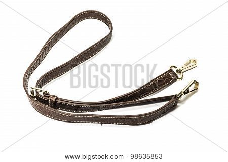 Shoulder Strap With Hooks On White Background