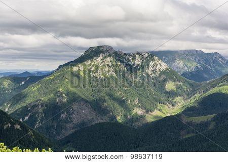 Beautiful Massif Kominiarski Wierch