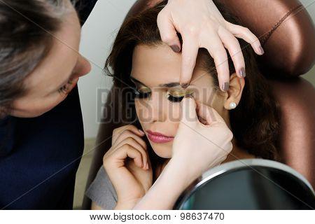 make up process