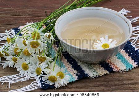 Useful Herbal Tea With Chamomile