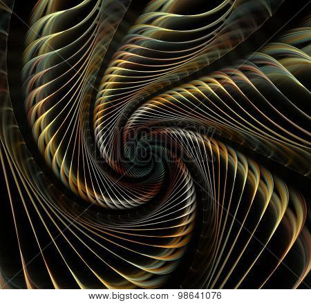 Great Spiral Shell Abstract