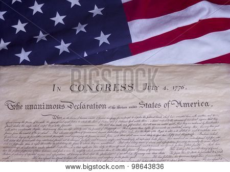 July 4 Document of Independence