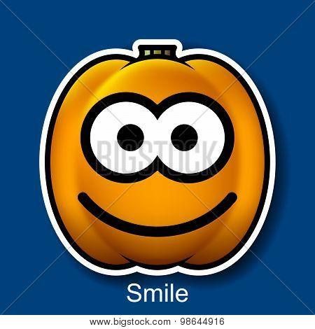 Vector Halloween Smiley Smile