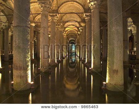 Underground Water In Istanbul, Turkey